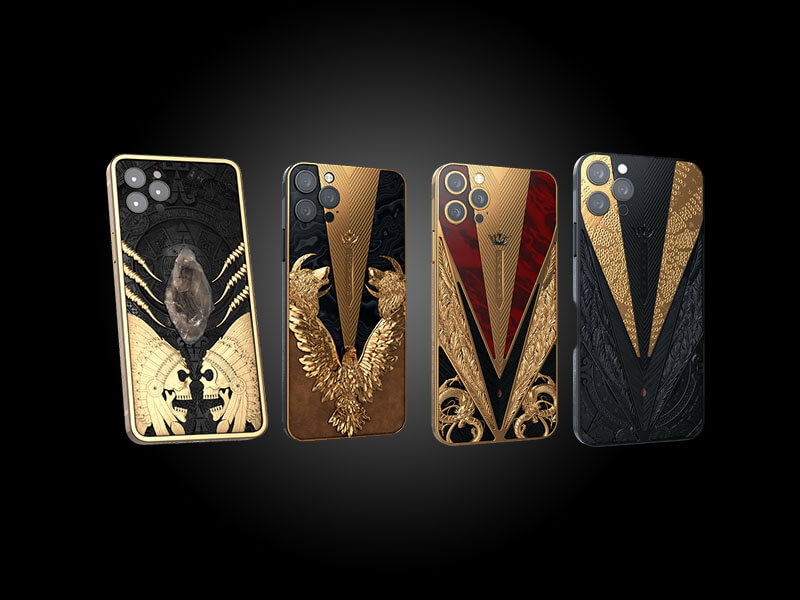 iphone 12 cover, expensive iphone 12, iphone 12 with gold, iphone 12 with diamonds, caviar iphone 12