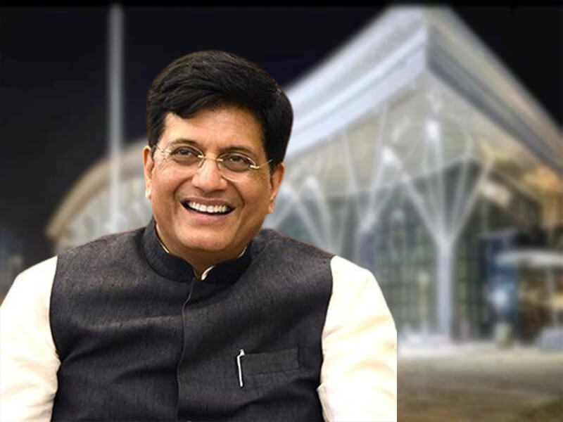 railway station karnataka, new railway station, railway minister shares images, new railway station karnataka, piyush goyal