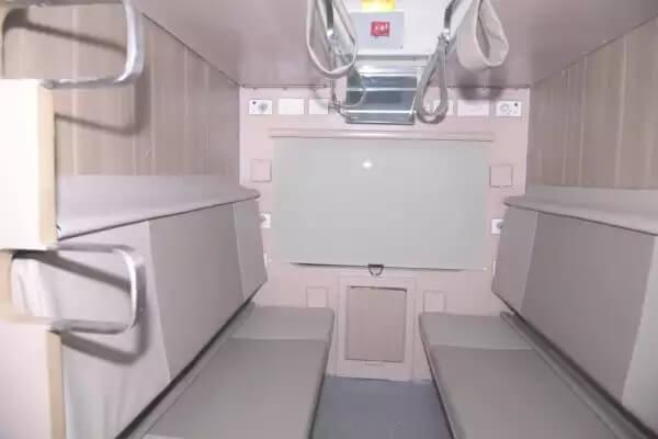 indian railway, economy ac 3 tier, new train coaches, railway coaches, train coach