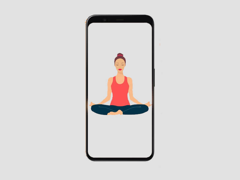 yoga, yoga app, yoga instructor, yoga ar app, ar yoga instructor app