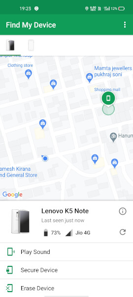 google find my device download