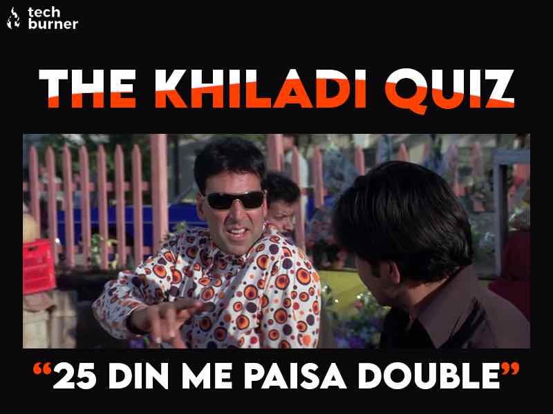 Akshay Kumar Quiz, khiladi quiz
