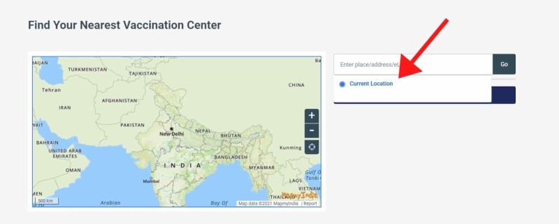 find nearest covid 19 testing center