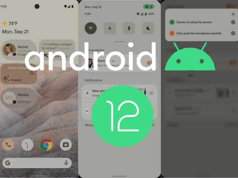 android 12 release date in india
