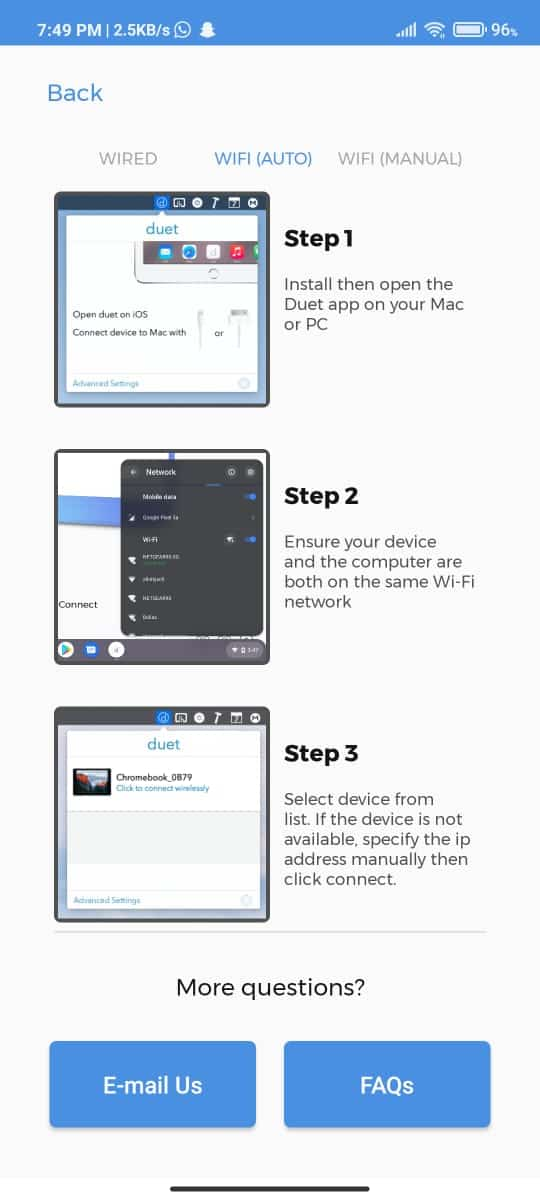 how to use tablet or smartphone as secondary display, how to use phone as a secondary display, how to use tablet as a secondary display, turn phone into display, turn tablet into display