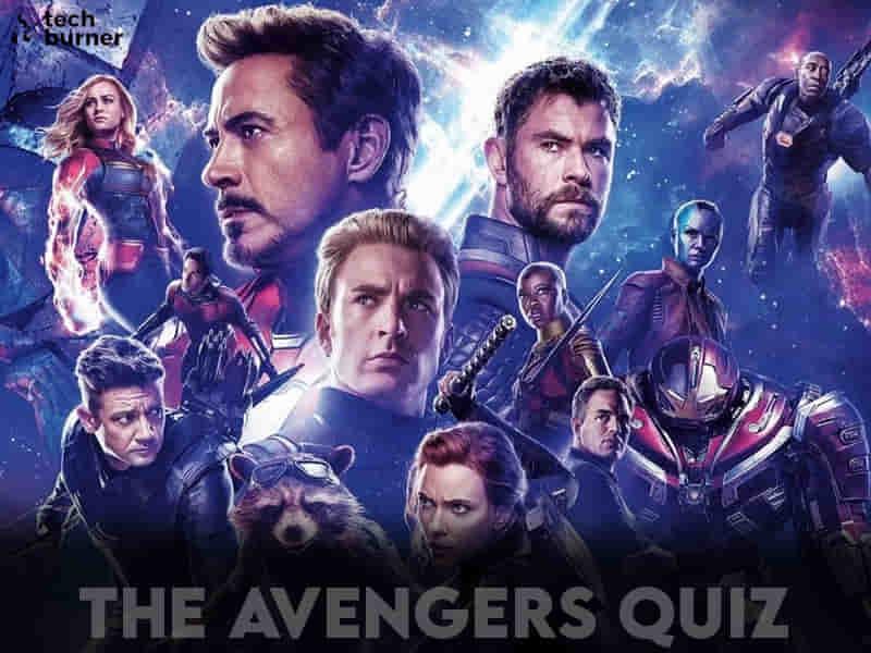 avengers quiz, quiz, tb quiz, techburner quiz, avengers