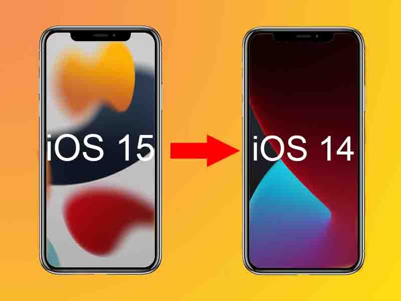 how to downgrade from ios 15 to ios 14, how to downgrade to ios 14, iphone, apple iphone, how to backup iphone data, how to restore iphone data, how to download ios 15 beta