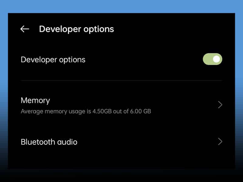how to access developer options on android, android developer options, top 5 developer options on android, top 5 developer options, top 5 developer settings