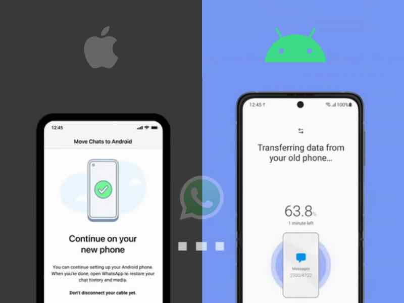 how to move whatsapp chats from ios to android, how to migrate whatsapp chats from ios to android, how to transfer whatsapp chats, whatsapp, whatsapp ios, transfer whatsapp data from ios to android, migrate whatsapp data from ios to android