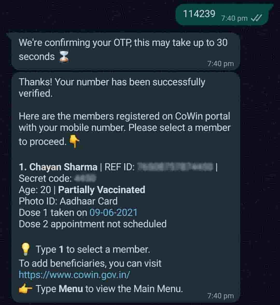 how to book covid 19 vaccine appointment on whatsapp, book covid 19 vaccine appointment from whatsapp, book vaccine appointment, how to book covid vaccine appointment, covid 19, covishield, how to book covid vaccination appointment from whatsapp, whatsapp vaccination appointment