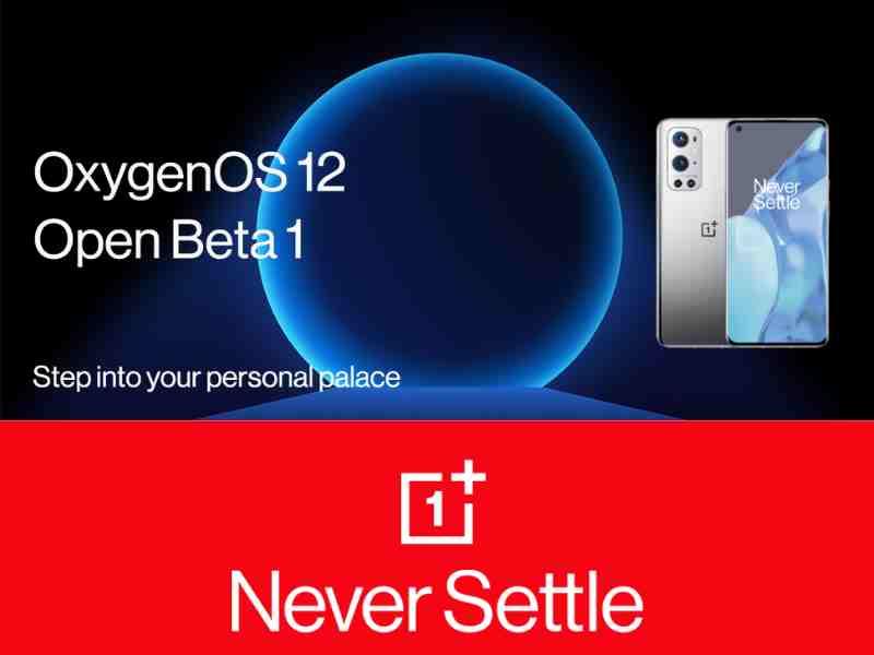 OxygenOS 12, OnePlus OxygenOS 12, OnePlus Android 12